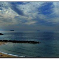 Зимнмй пляж. :: Leonid Korenfeld