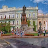 Екатерининская площадь в сентябре. :: Вахтанг Хантадзе