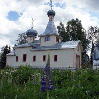 Лахденпохья, Церковь Илии Пророка :: Елена Павлова (Смолова)