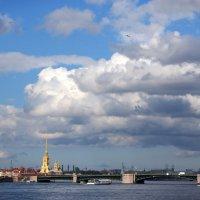 Питер в облаках :: Юлия Фотолюбитель