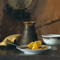 Кофе с апельсином ... :: Алла Иванова