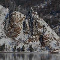 Зимние скалы :: Татьяна Соловьева
