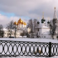Красота зимнего Ярославля :: Николай Белавин