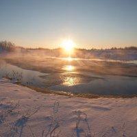 Морозный парок!!!! :: Олег Кулябин