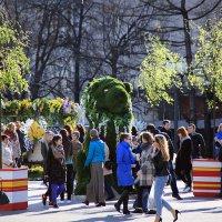 тёплые обновления в столице :: Олег Лукьянов