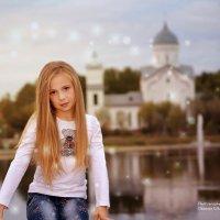 Мама отведи меня в храм... :: Oksana Likhadziyeuskaya