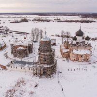 Аэросъемка / Михайло-Клопский монастырь :: Павел Москалёв