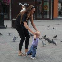 Топ-топ, топает малыш... :: Михаил Битёв