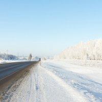 Зимняя дорога :: Alex Bush
