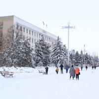 Площадь освобождения, город Бендеры. :: Даниил Шутов
