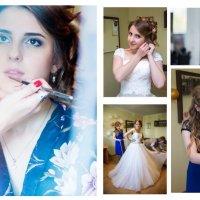 свадебный коллаж утро невесты :: Егор Чеботаренко