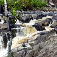 Порог-водопад Ляскеля :: Елена Павлова (Смолова)
