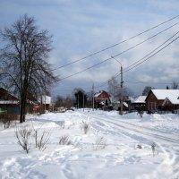 февраль на городской окраине... :: Галина Флора