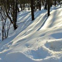 снег пушистый... :: Валентина. .