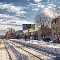 трамвайные пути :: юрий иванов