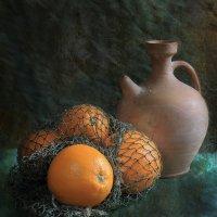 Натюрморт с апельсинами :: Татьяна Панчешная