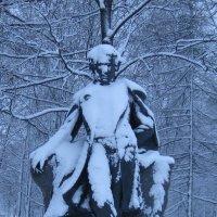Памятник Александру Пушкину в Царском Селе. 1912 год :: Маера Урусова