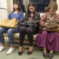 Ввагоне метро :: Владимир Орлов
