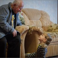 Разговор с дедом) :: Сергей Величко