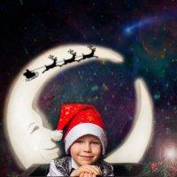 Маленький Санта Клаус :: Анна Дрючкова