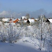 Зимний пейзаж. :: Наталья
