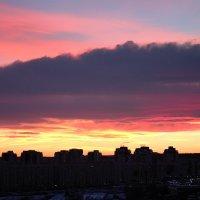 Ноябрьский закат :: Ксения Винтер