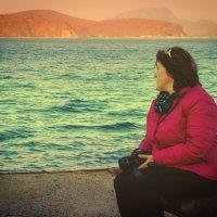 Наедине с морем... :: Арина