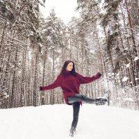 Балет снежинок :: Алеся Пушнякова