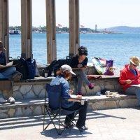Творчество у моря  (повседневная жизнь Стамбула) :: Юлия Фотолюбитель