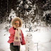 Вот такой у меня снеговик!!! :: Алексей Кудрин