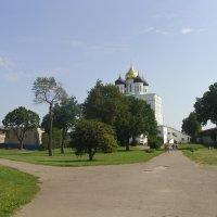 В Псковском Кремле :: Виктор Мухин