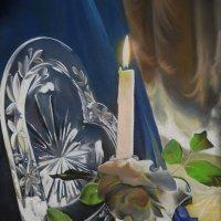 """""""Хрусталь нежности"""". (Картина написана пастелью). :: Лара Гамильтон"""