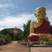 Таиланд, Паттая, Золотой Будда  на острове Ко Ларн. :: Евгений Мергалиев