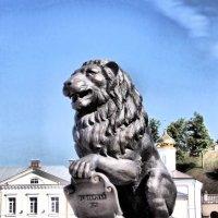 Лев с Пушкинского моста :: Падонагъ MAX
