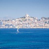 Вид на Марсель с острова Фриуль :: Наталия