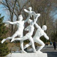"Скульптурная композиция ""Спорт"" :: Надежда"