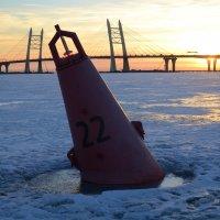 Закат на заливе :: Наталья Левина