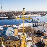 Крест Софийского собора :: Павел Москалёв