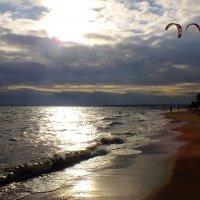 Кайтинг на заливе :: Андрей Кротов