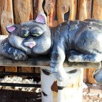 Сытый кот. :: Ираида Мишурко