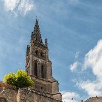 Сент-Эмильон. Скальная церковь Сент-Эмильон. :: Надежда Лаптева