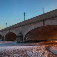Троицкий мост. г. Санкт-Петербург. :: Василий Голод