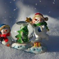 Снеговички :: Марина Мишутина