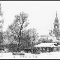 Февральский снегопад.. :: марк