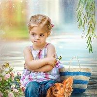 Яркий, солнечный детский коллаж :: Марина Уланова