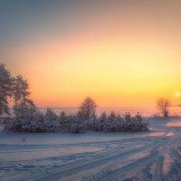 Панорама морозного вечера :: Aleksei Malygin