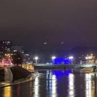 Зеленый мост. Вильнюс :: Gennadiy Karasev