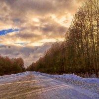 Зимняя дорога :: Smirnov Aleksey Смирнов