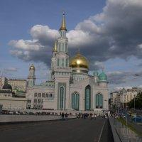 Мечеть на Олимпийском проспекте в Москва :: Sergey Istra