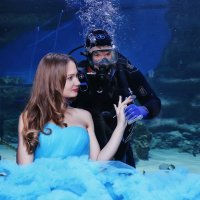 подводная нимфа :: Евгений Красношапка